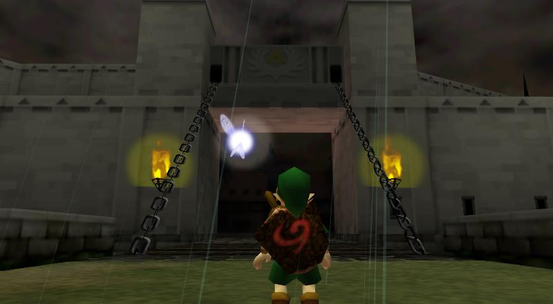 The legend of Zelda : Ocarina Of Time (1998) – Nintendo