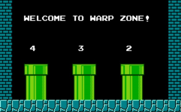 Mario Warp Zone