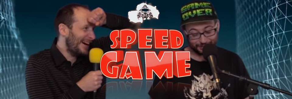 Le logo de Speed Game avec CdV (gauche) et RealMyop (droite)