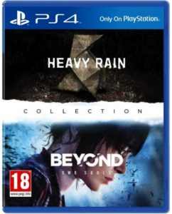 The Heavy Rain and Beyond: Two Souls Collection — Quantic Dream (2016, PS4)