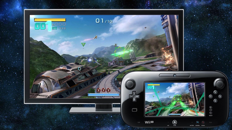 Télévision et gamepad offrent deux vues différentes.
