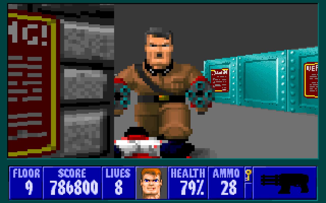 Wolfenstein 3D (1993) ft. le Führer – iD Software