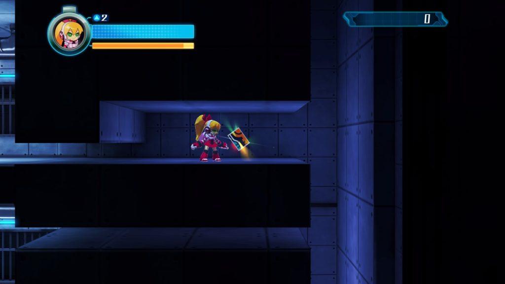 Le personnage de Call, inapte au combat, est incarné le temps d'une mission d'infiltration