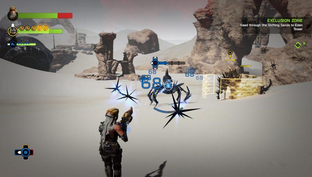 recore-gameplay