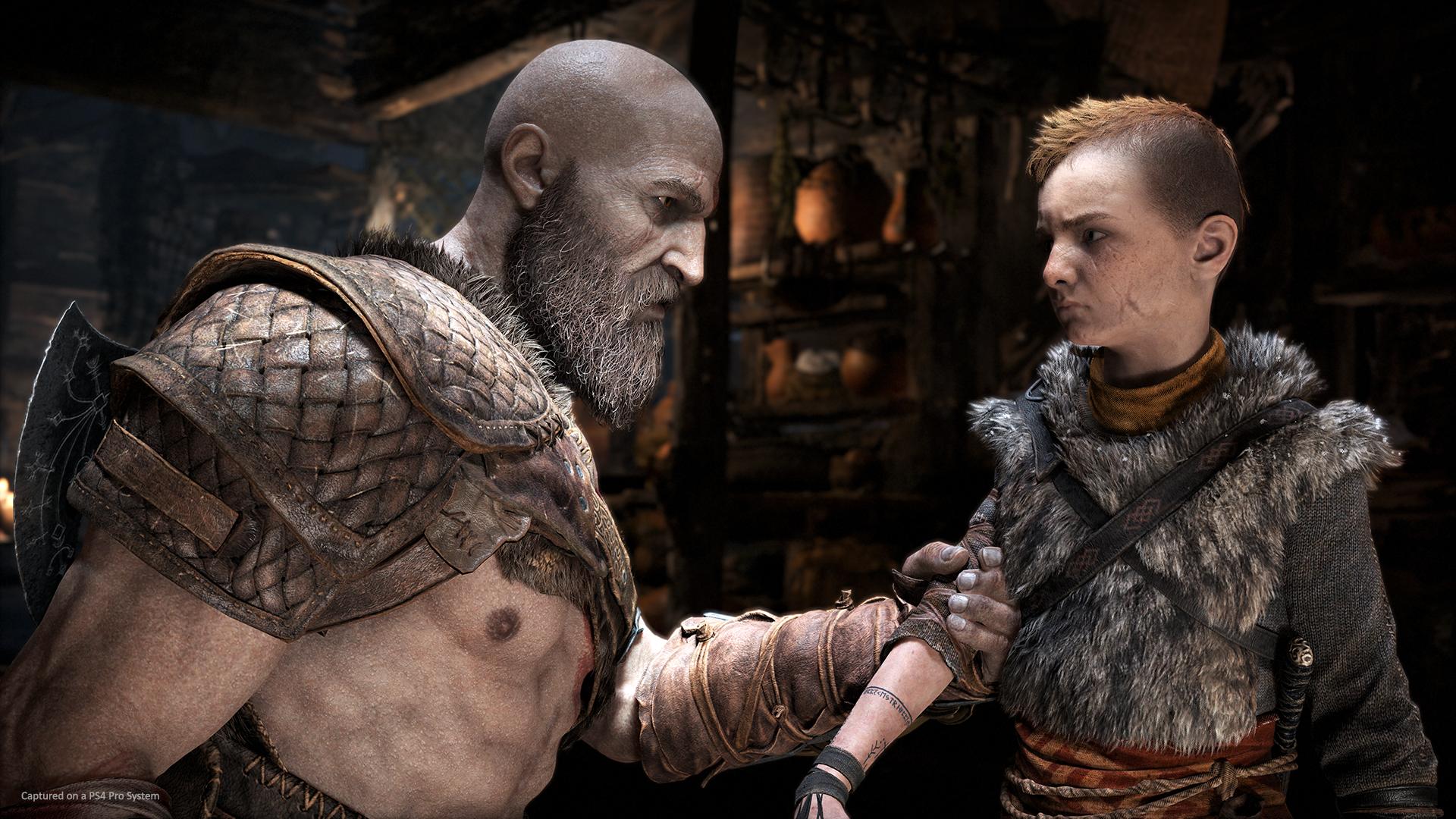Comment rendre un personnage déjà débordant de testostérone encore plus viril ? Très facile ! Donnez-lui une barbe !