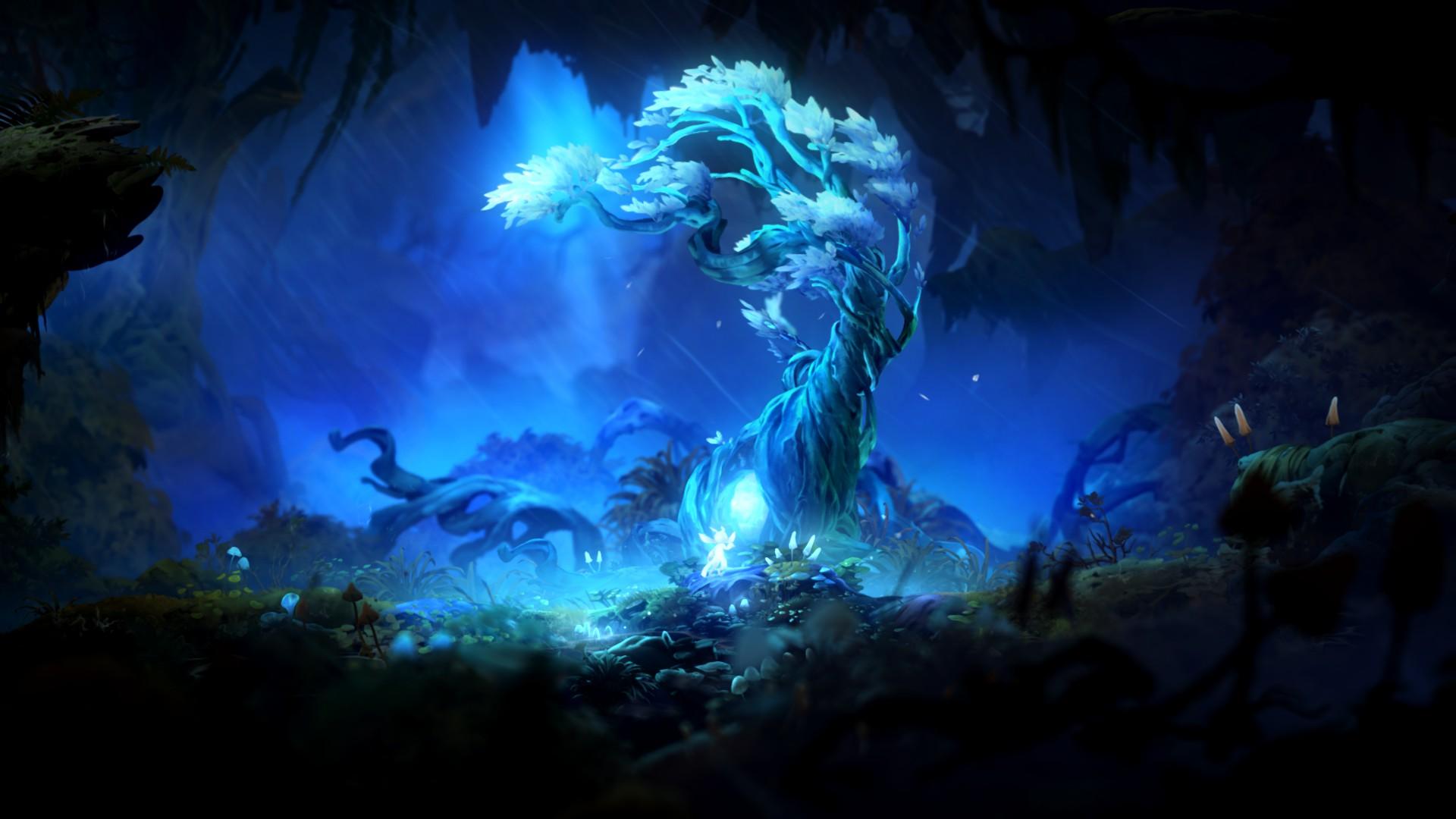 Les arbres esprits